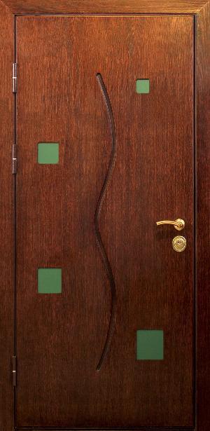 шпон для металлической двери