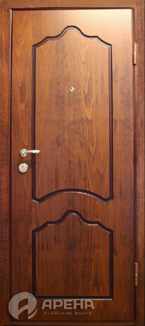 железные двери со шпоном