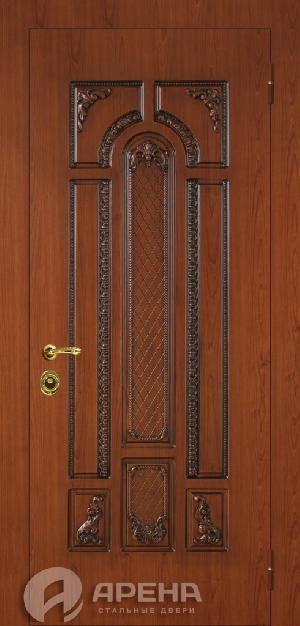две входные двери отделкой мдф