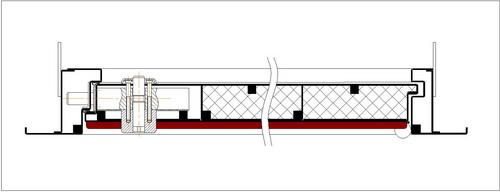 Схема двери ДМЗ-1