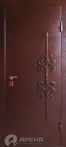 входные двери железные с узорами